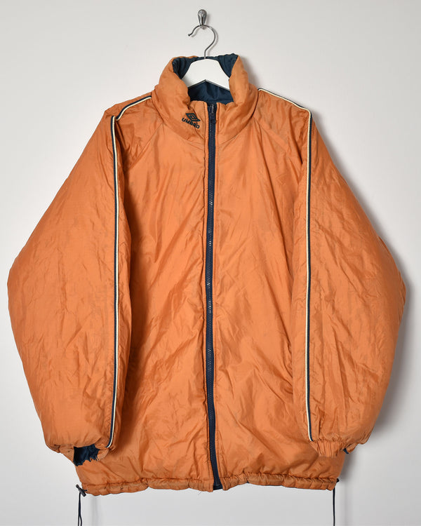 Umbro Reversible Jacket - Large - Domno Vintage 90s, 80s, 00s Retro and Vintage Clothing