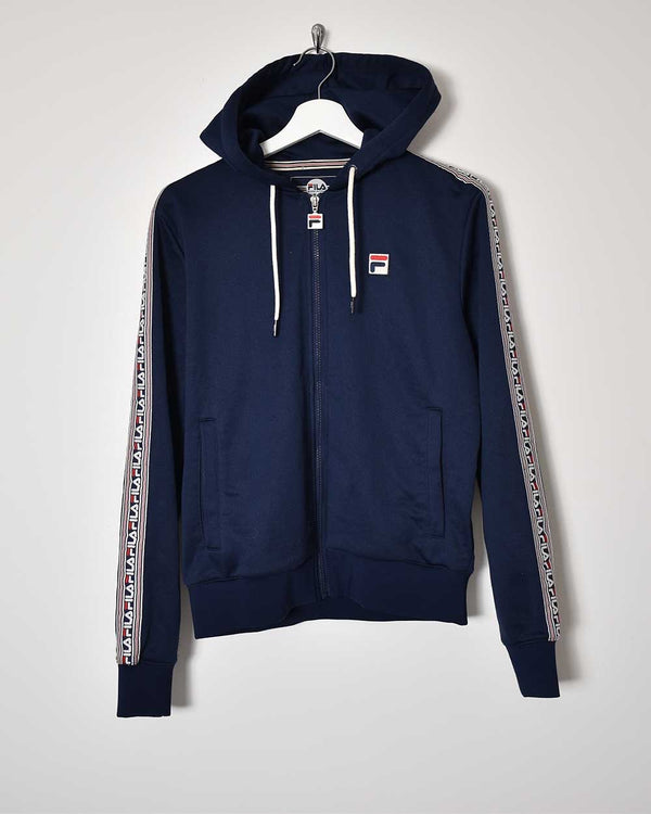 Fila Hooded Tracksuit Top - Small
