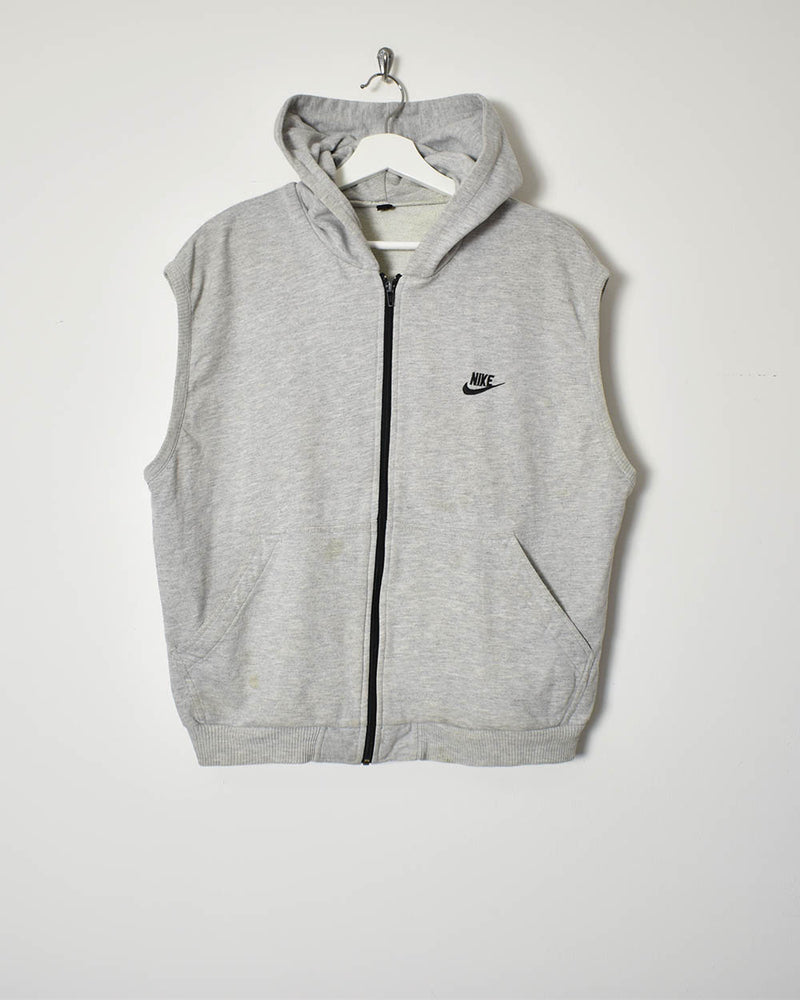 Nike Sleeveless Hoodie - Small - Domno Vintage 90s, 80s, 00s Retro and Vintage Clothing