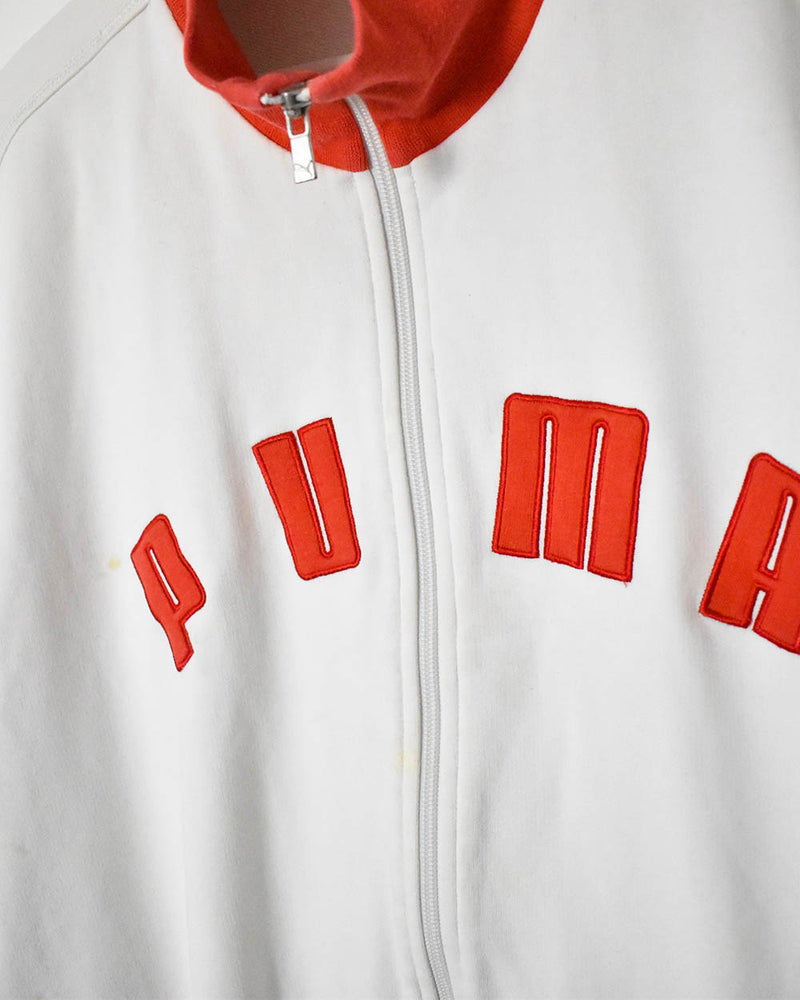 Puma Sweatshirt - X-Large - Domno Vintage 90s, 80s, 00s Retro and Vintage Clothing