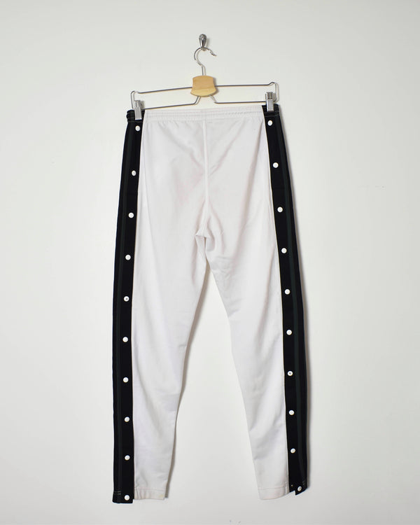 Adidas Popper Tracksuit Bottoms - Small