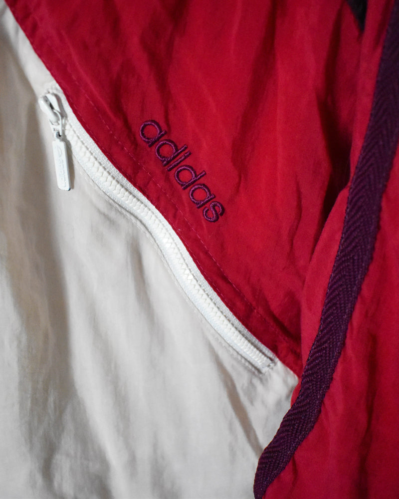 Adidas Women's Shell Jacket - Large - Domno Vintage 90s, 80s, 00s Retro and Vintage Clothing