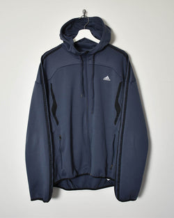 Adidas Hoodie - Large - Domno Vintage 90s, 80s, 00s Retro and Vintage Clothing