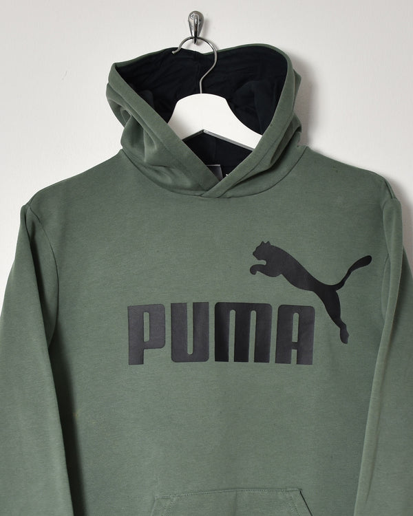 Puma Hoodie - Small - Domno Vintage 90s, 80s, 00s Retro and Vintage Clothing