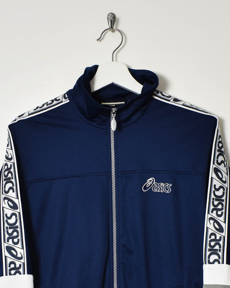 Asics Tracksuit Top - Small - Domno Vintage 90s, 80s, 00s Retro and Vintage Clothing