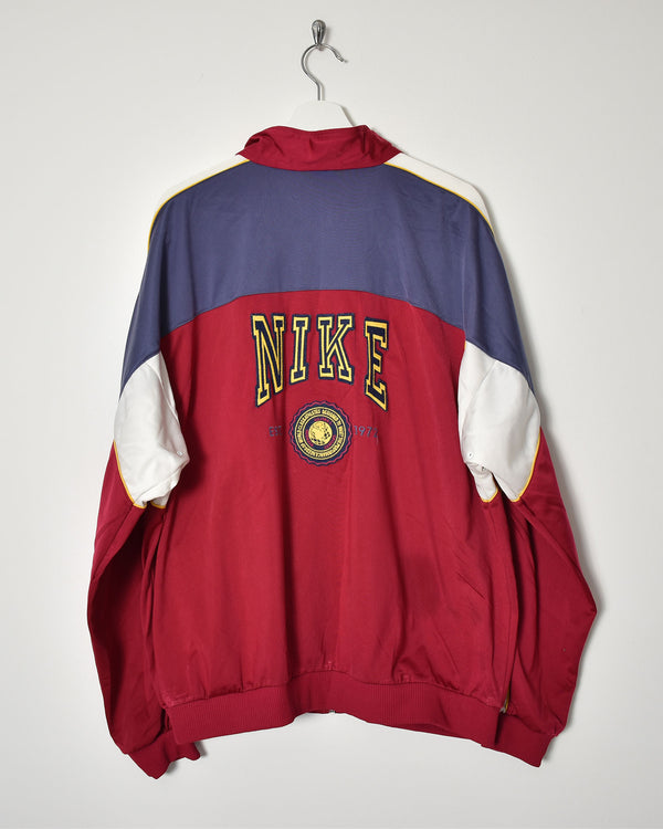 Nike 90s Tracksuit Top - X-Large - Domno Vintage 90s, 80s, 00s Retro and Vintage Clothing