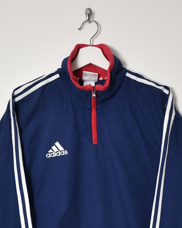 Adidas 1/4 Zip Jacket - Large