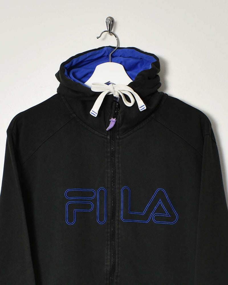 Fila Hoodie - Large - Domno Vintage 90s, 80s, 00s Retro and Vintage Clothing