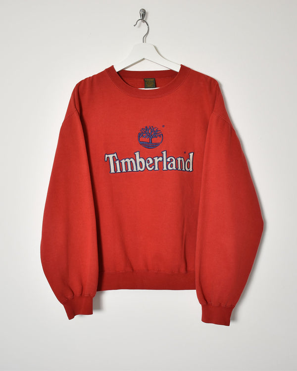 Timberland Sweatshirt - Large - Domno Vintage 90s, 80s, 00s Retro and Vintage Clothing