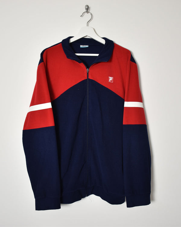 Fila Fleece - Large - Domno Vintage 90s, 80s, 00s Retro and Vintage Clothing