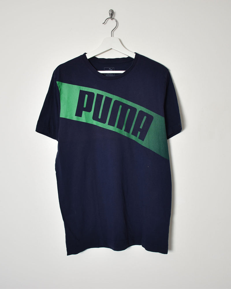 Puma T-Shirt - Large - Domno Vintage 90s, 80s, 00s Retro and Vintage Clothing
