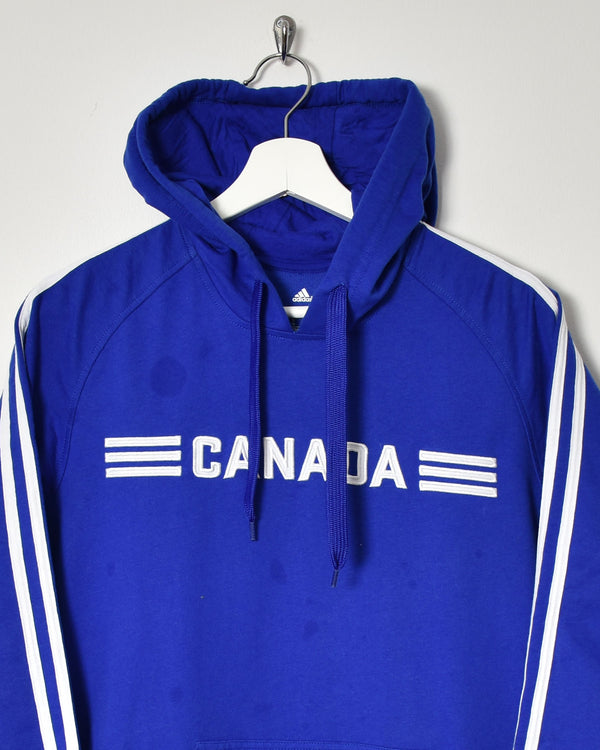 Adidas Canada Hoodie - Medium - Domno Vintage 90s, 80s, 00s Retro and Vintage Clothing