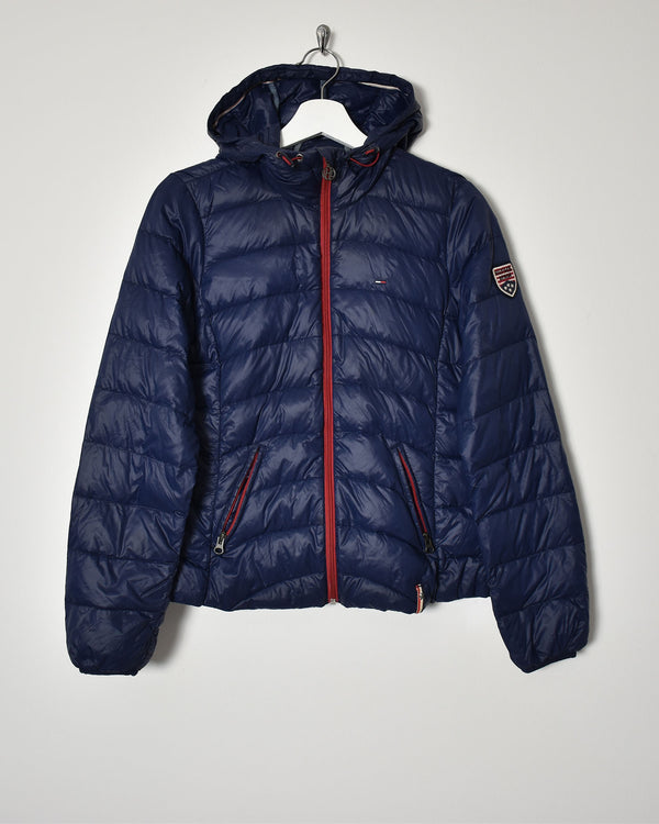 Tommy Hilfiger Women's Puffer Jacket - Small - Domno Vintage 90s, 80s, 00s Retro and Vintage Clothing
