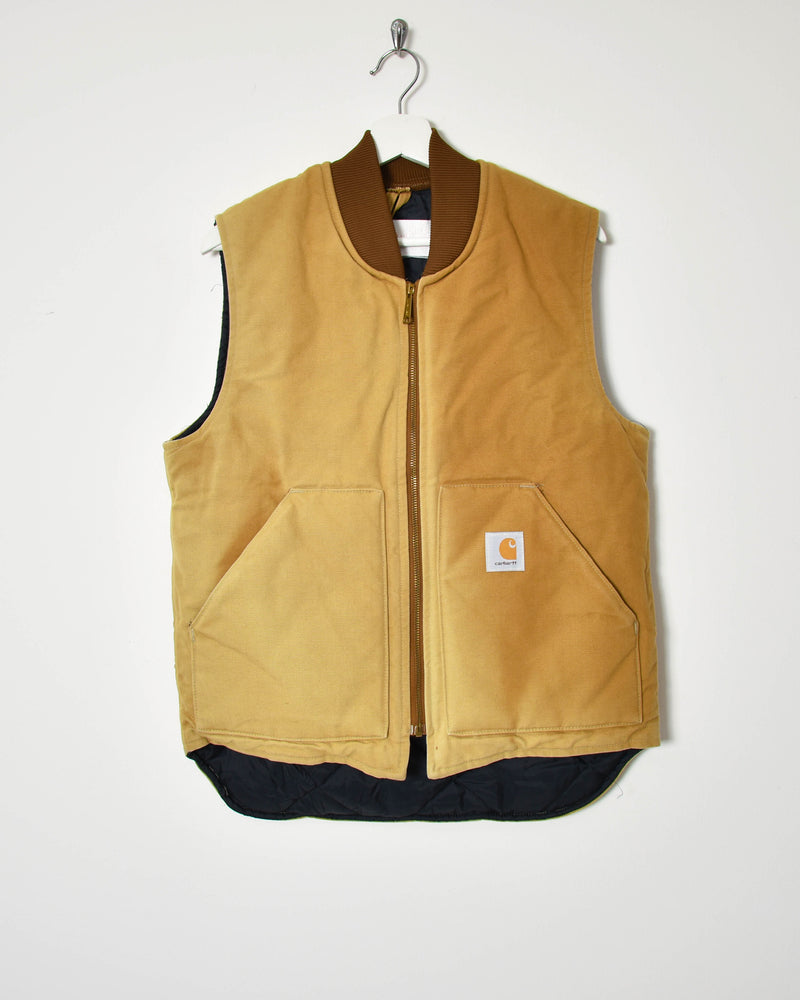 Carhartt Padded Gilet - Medium - Domno Vintage 90s, 80s, 00s Retro and Vintage Clothing