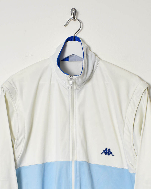 Kappa Tracksuit Top - Medium - Domno Vintage 90s, 80s, 00s Retro and Vintage Clothing