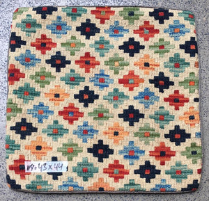 Hand knotted Cushion cover 114 size 43 x 44 cm Afghanistan