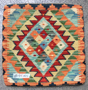 Hand knotted Cushion cover 10 size 45 x 45 cm Afghanistan