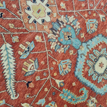 Load image into Gallery viewer, Hand knotted wool Rug 175274 size 274 x 175 cm India