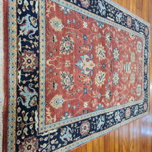 Load image into Gallery viewer, Hand knotted wool Rug 155241 size 241 x 155 cm India
