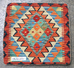 Hand knotted Cushion cover 11 size 42 x 42 cm  Afghanistan