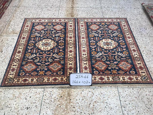 Hand knotted wool Rug 264 size 148 x 100 cm Afghanistan