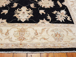 Hand knotted wool Rug 191151 size 191 x 151 cm Afghanistan