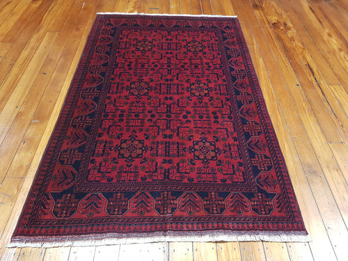 Hand knotted wool Rug 7 size 195 x 125 cm Afghanistan