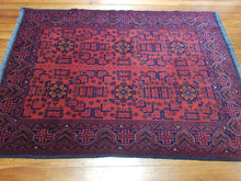 Load image into Gallery viewer, Hand knotted wool Rug 9065 size 196 x 143 cm Afghanistan