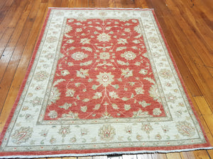 Hand knotted wool Rug 150201 size 150 x 201 cm Afghanistan