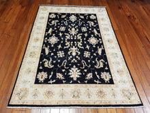Load image into Gallery viewer, Hand knotted wool Rug 208147 size 208 x 147 cm Afghanistan