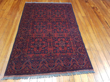 Load image into Gallery viewer, Hand knotted wool Rug 9005 size 198 x 125 cm Afghanistan