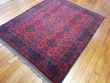 Load image into Gallery viewer, Hand knotted wool Rug 9063 size 187 x 154 cm Afghanistan