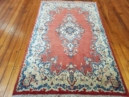 Hand knotted wool Rug 6482  size  215 x 135 cm Iran