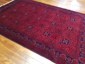 Hand knotted wool Rug 4340 size 295 x 199 cm Afghanistan