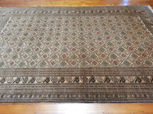 Hand knotted wool Rug 1271 size 291 x 198 cm Afghanistan