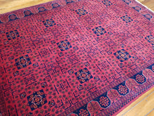 Load image into Gallery viewer, Hand knotted wool Rug 4598 size 172 x 239 cm Afghanistan