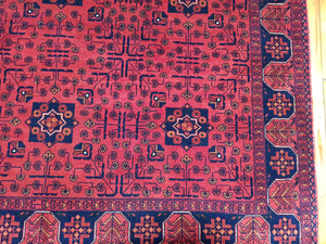 Hand knotted wool Rug 4598 size 172 x 239 cm Afghanistan