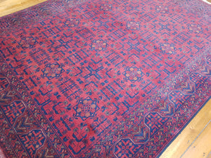 Hand knotted wool Rug 3 size 234 x 176 cm Afghanistan