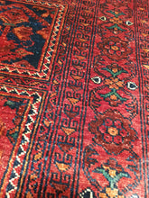 Load image into Gallery viewer, Hand knotted wool Rug 2239 size 154 x 230 cm Afghanistan