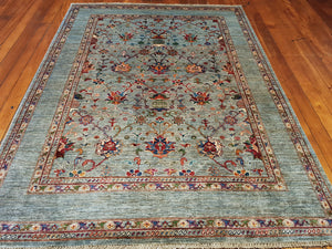 Hand knotted wool Rug 6 size 237 x 176 cm Afghanistan