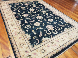 Hand knotted wool Rug 23 size 248 x 168 cm Afghanistan