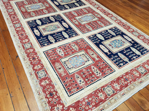 Hand knotted wool Rug 250167 size 250 x 167 cm Afghanistan