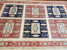 Load image into Gallery viewer, Hand knotted wool Rug 250167 size 250 x 167 cm Afghanistan