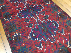 Hand knotted wool Rug 14 size 143 x 85 cm Afghanistan
