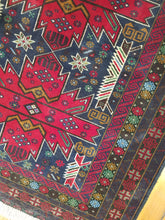 Load image into Gallery viewer, Hand knotted wool Rug 9 size  155 x 97 cm Afghanistan