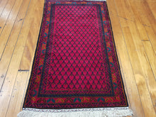 Load image into Gallery viewer, Hand knotted wool Rug 10  size 146 x 86 cm Afghanistan