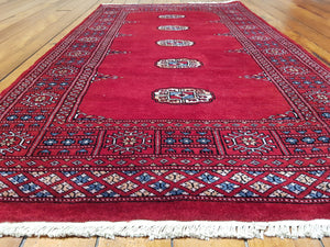 Hand knotted wool Rug 6 size 166 x 95 cm Pakistan