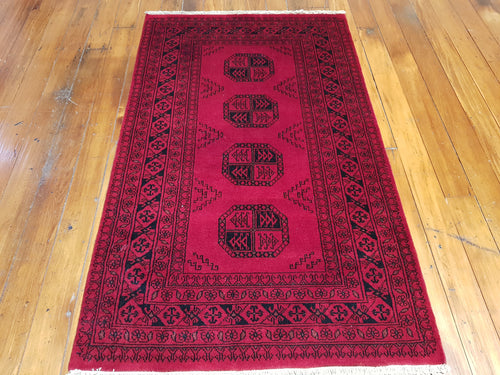 Hand knotted wool Rug 7 size 162 x 93 cm Pakistan