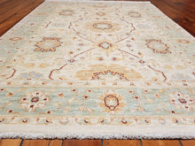 Load image into Gallery viewer, Hand knotted wool Rug 167118 size 167 x 118 cm Afghanistan