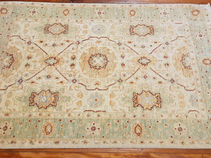 Hand knotted wool Rug 167118 size 167 x 118 cm Afghanistan
